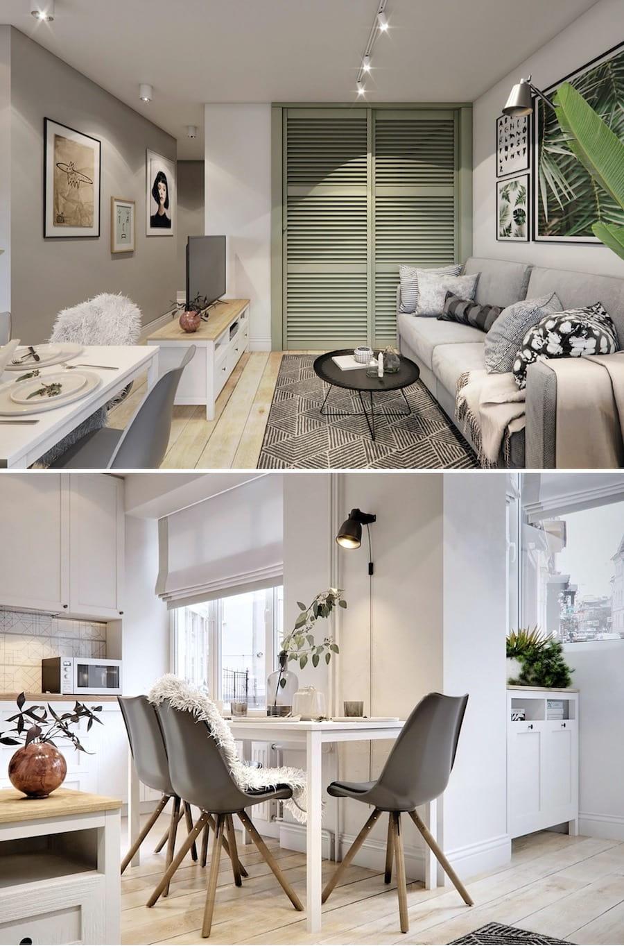 дизайн маленькой квартиры фото 27