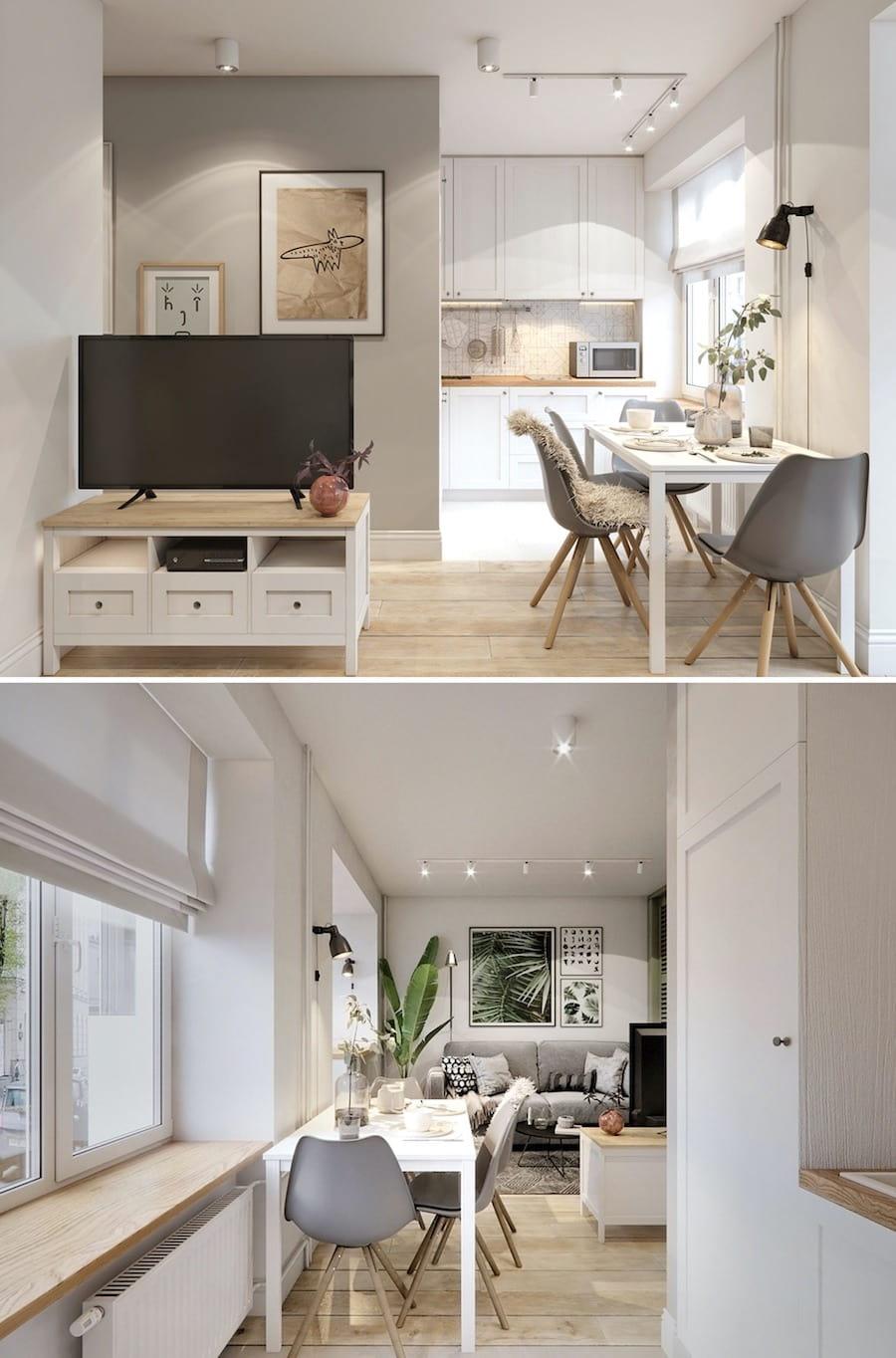 дизайн маленькой квартиры фото 28