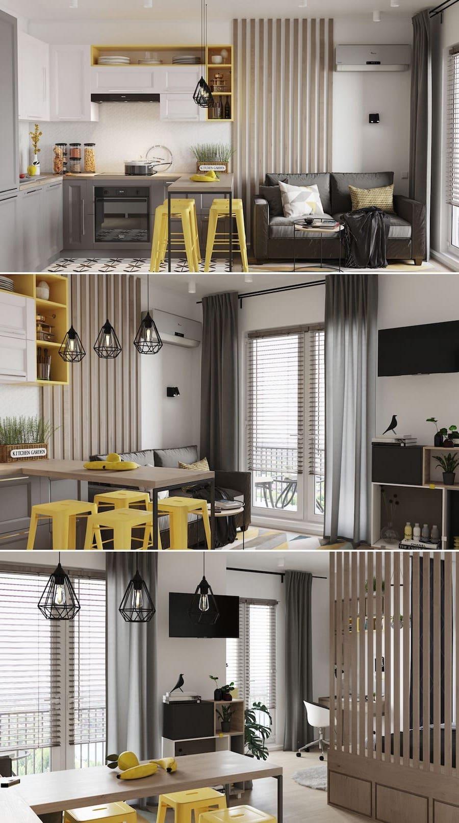 дизайн маленькой квартиры фото 3