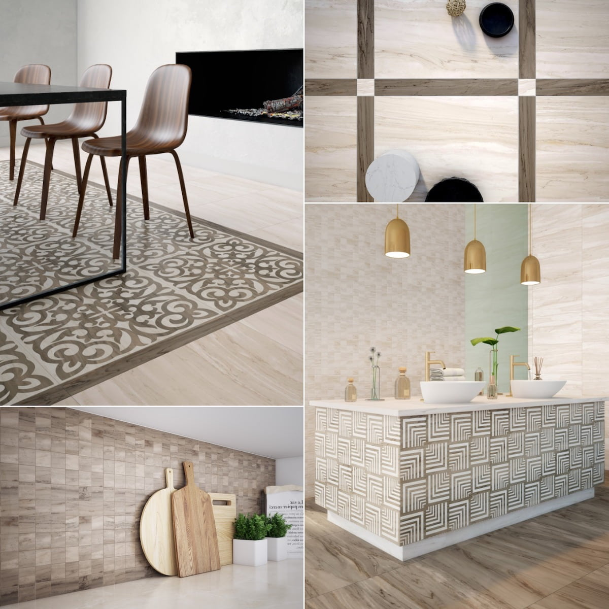 керамическая плитка на пол и стены фото 9