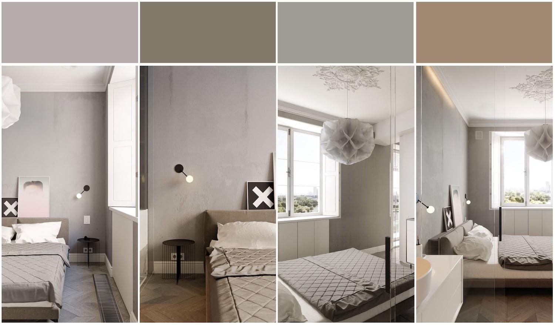 серый цвет в интерьере фото 6