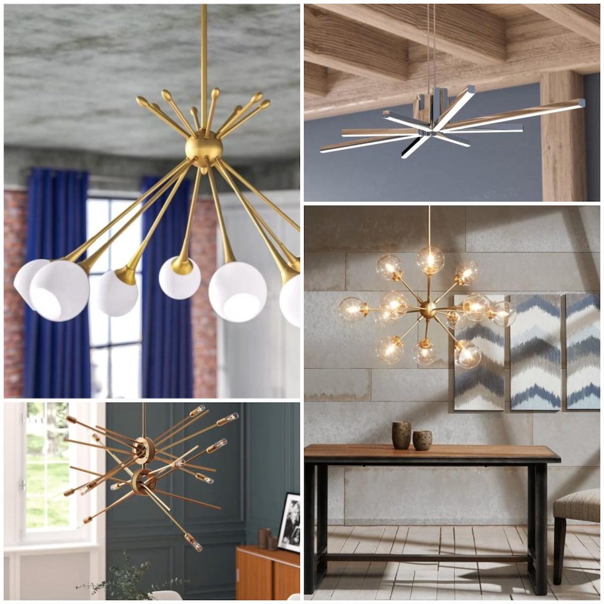 Люстры и светильники с авторским дизайном