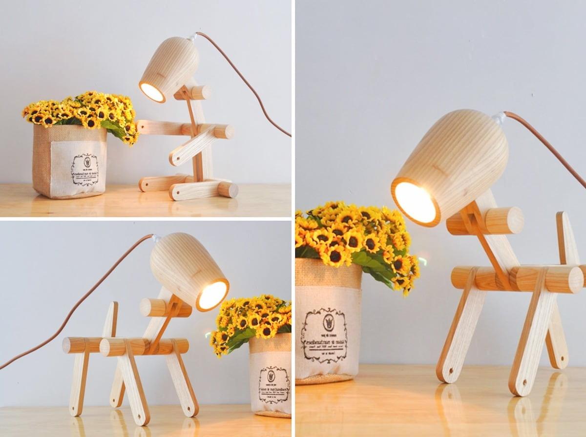 Настольный светильник который можно поставить в любое положение