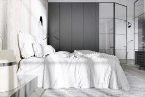 дизайн квартиры в сером цвете фото 6