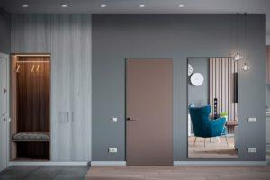 дизайн квартиры в сером цвете фото 7