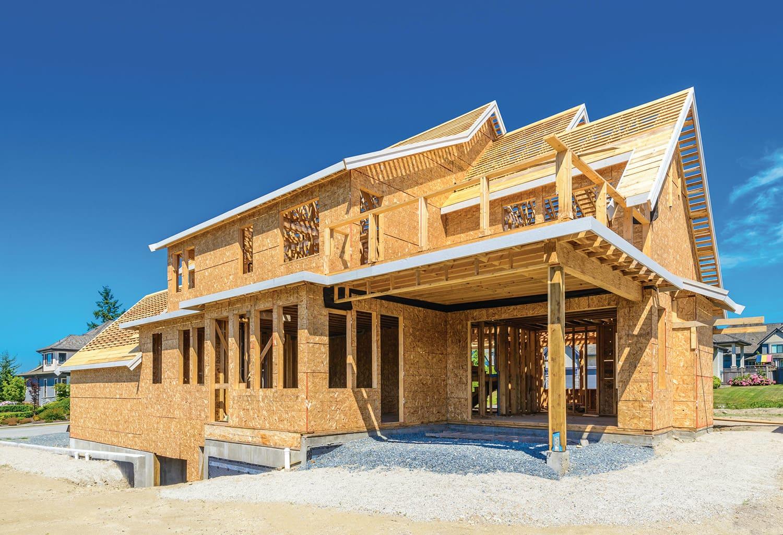 Возведение дома из панелей СИП – канадская технология строительства