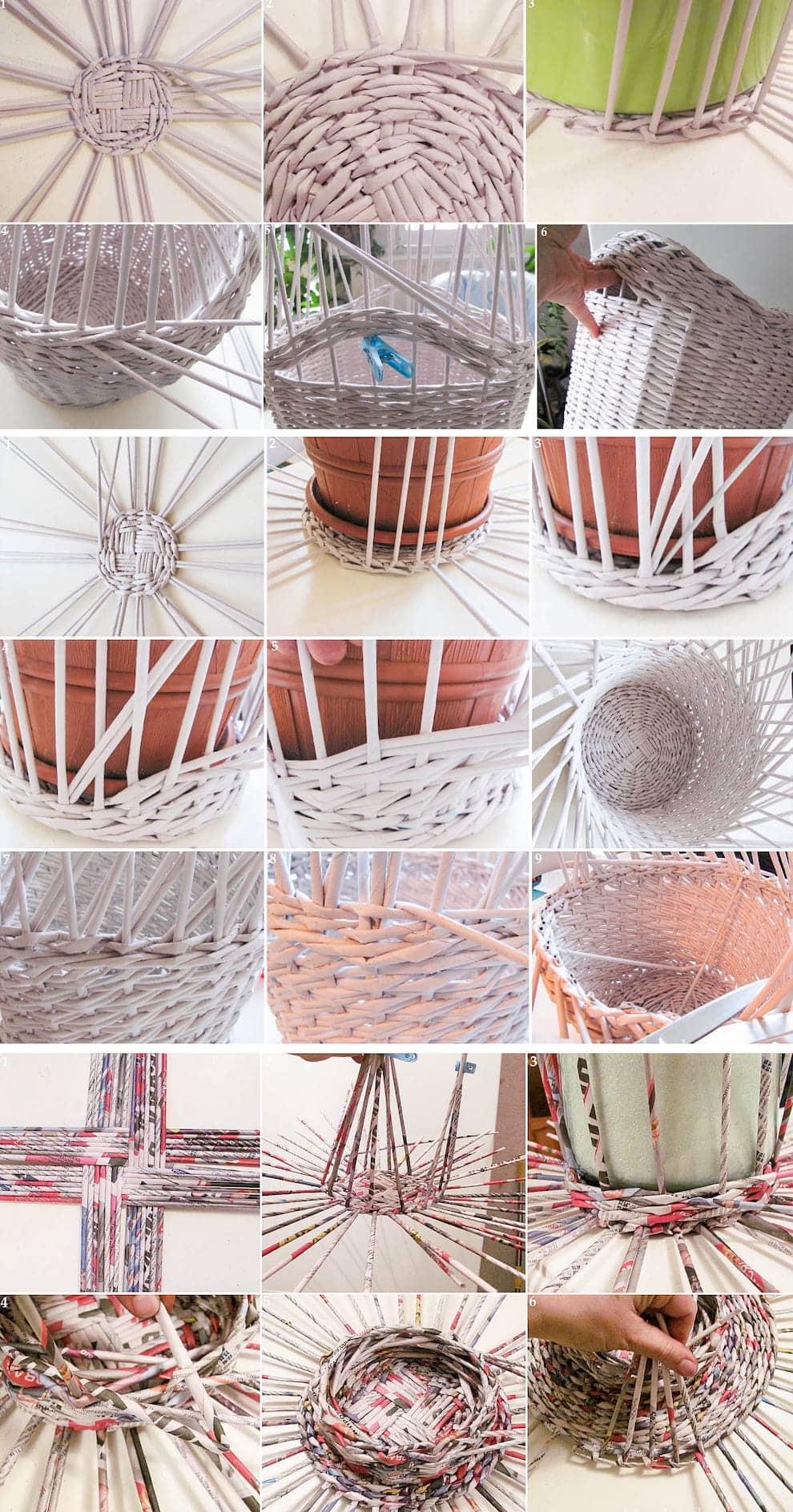 Способы плетения газетными трубочками – весьма разнообразны, в каждом есть свои плюсы и минусы