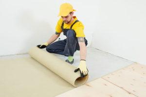 монтаж фанеры на деревянный пол своими руками