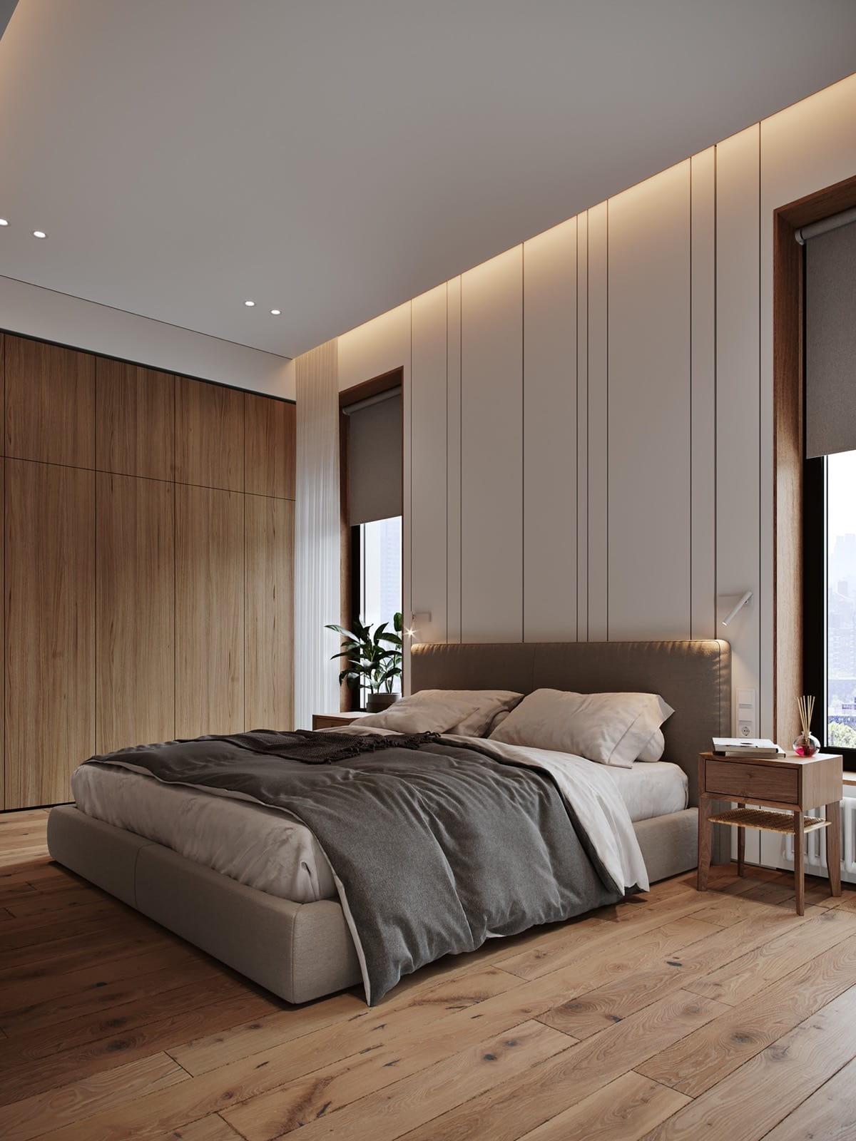 спальня в современном стиле фото 3