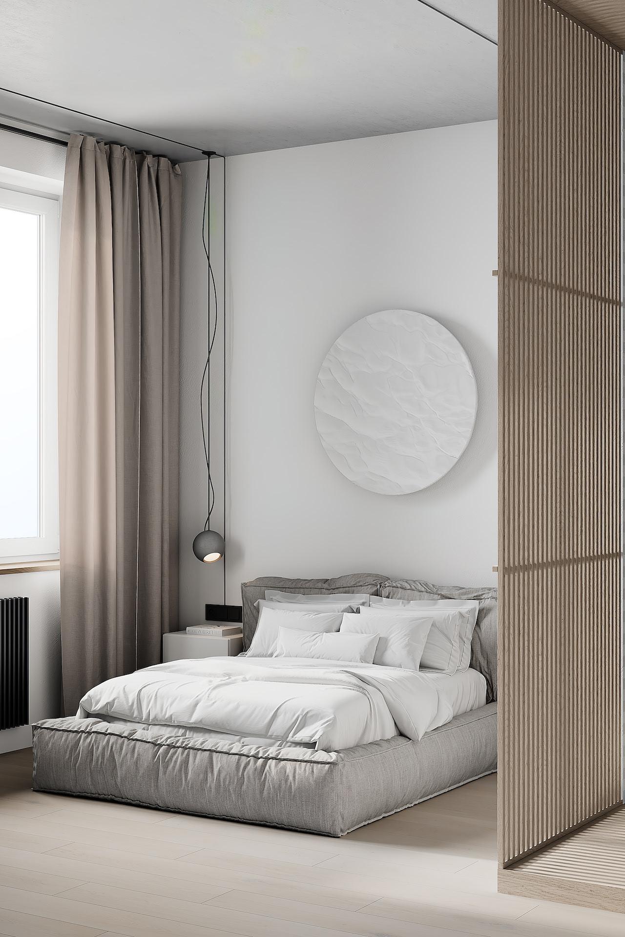 современный стиль в интерьере спальни фото 1