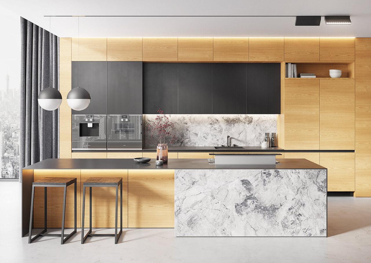 кухня в современном стиле фото 1