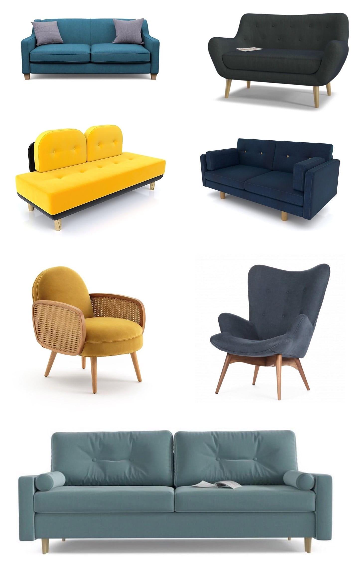 современная мягкая мебель фото 5
