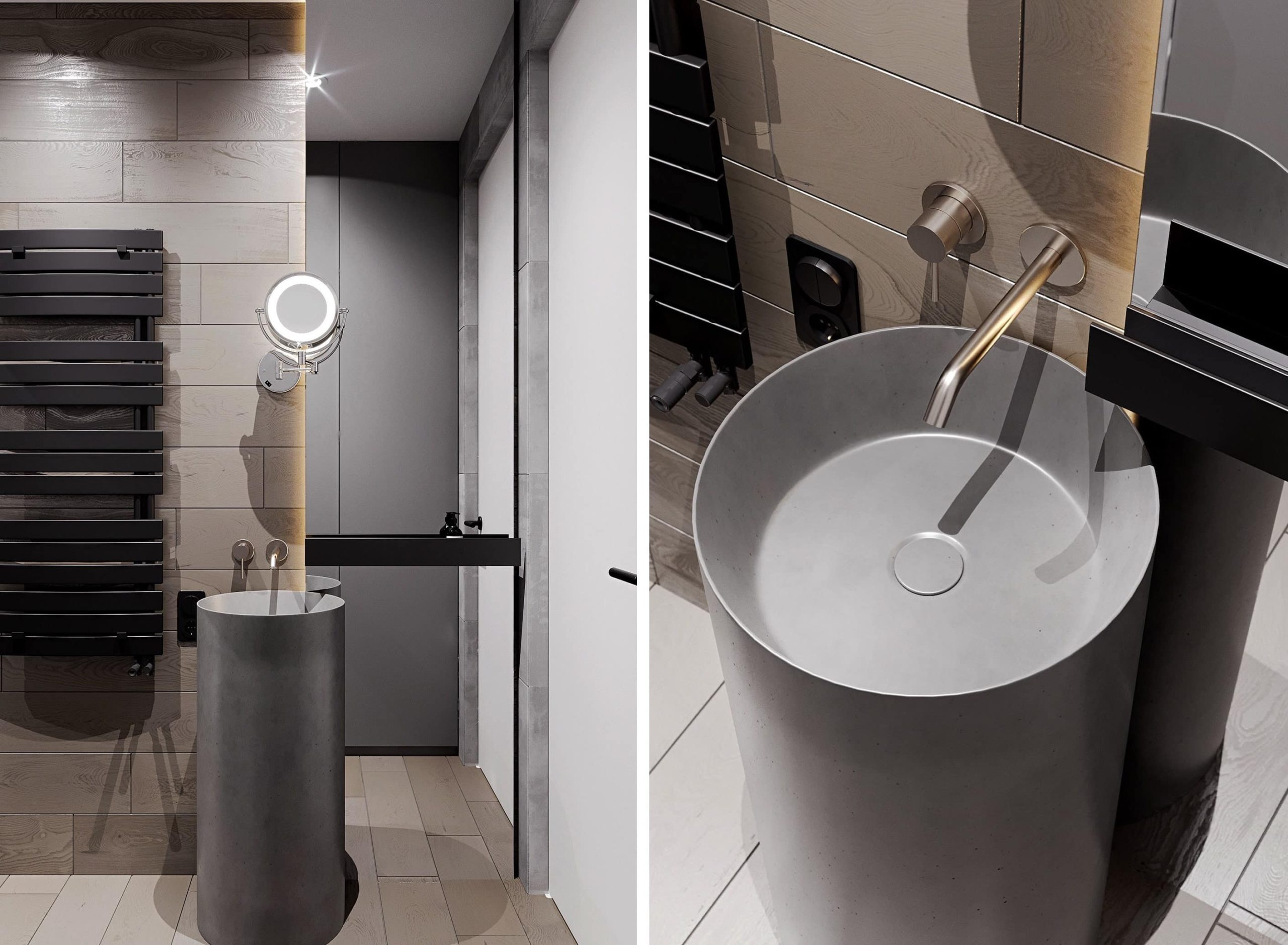 красивая современная ванна фото 1