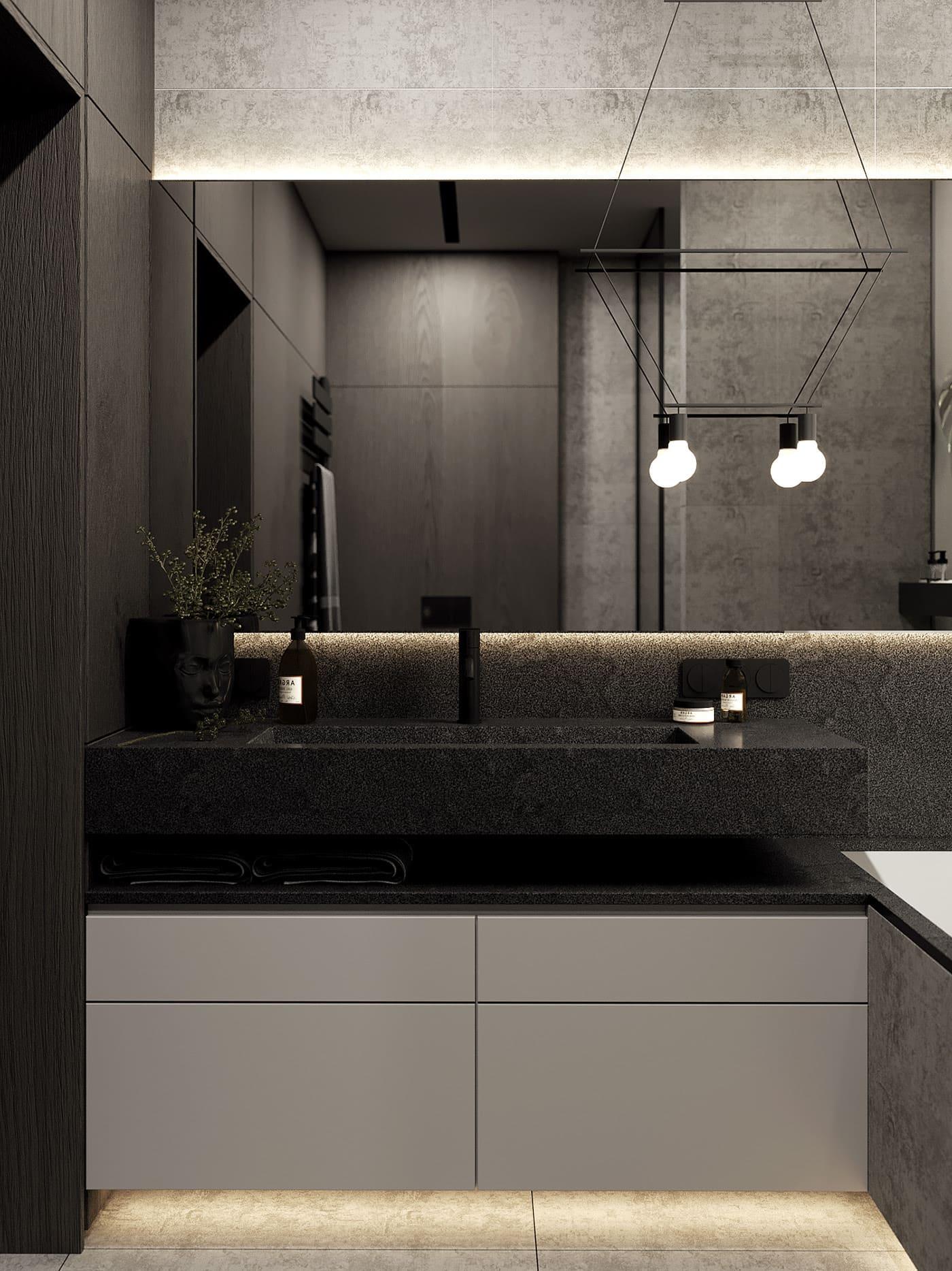 красивая современная ванна фото 2