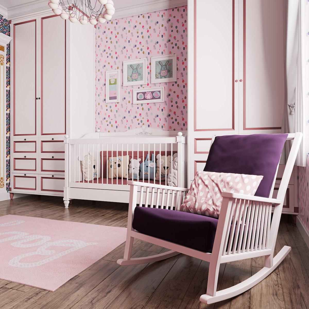 детская комната для девочки фото 2