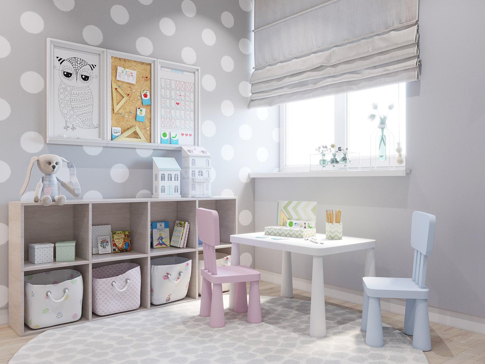 детская комната для девочки фото 8