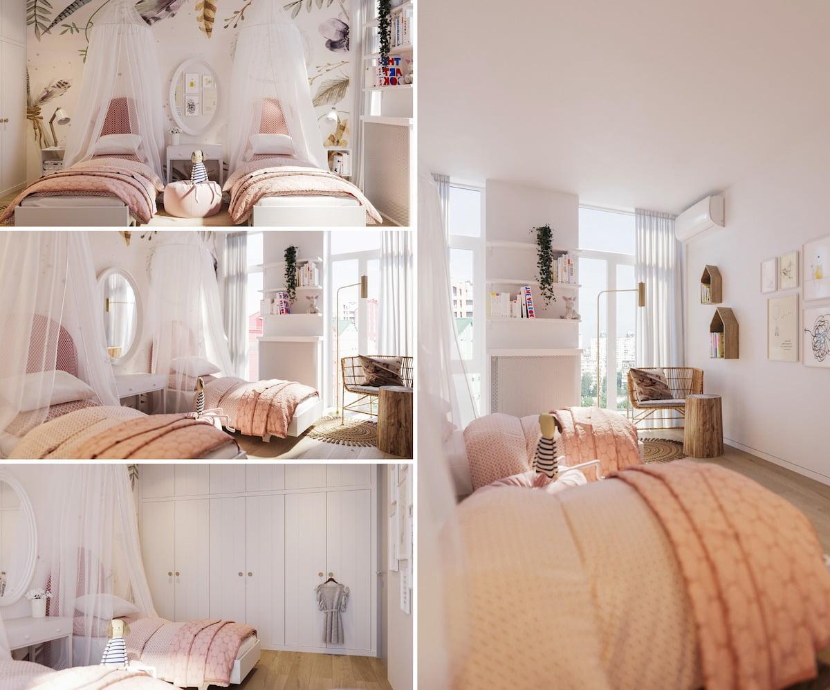 детская комната для девочки фото 22