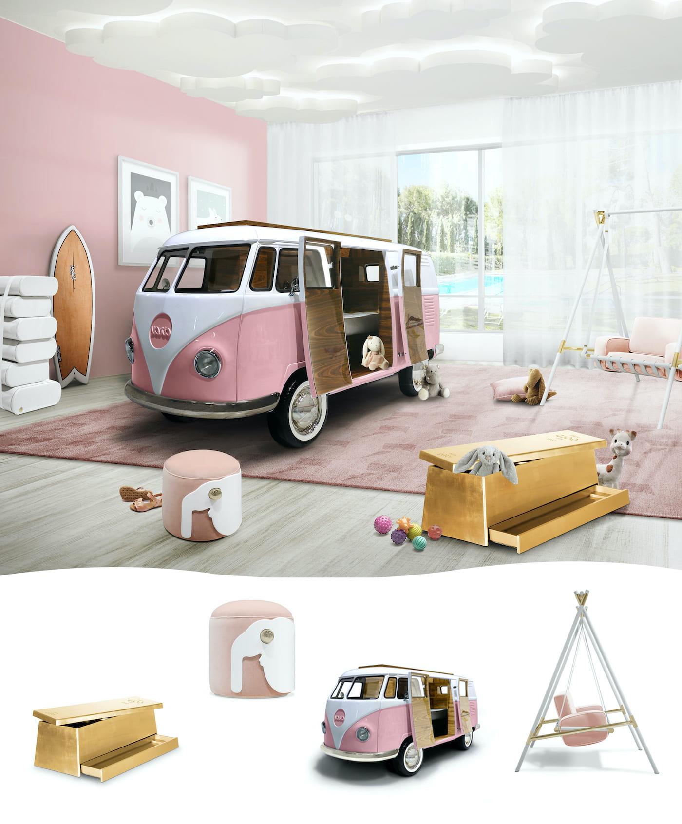 детская комната для девочки фото 21