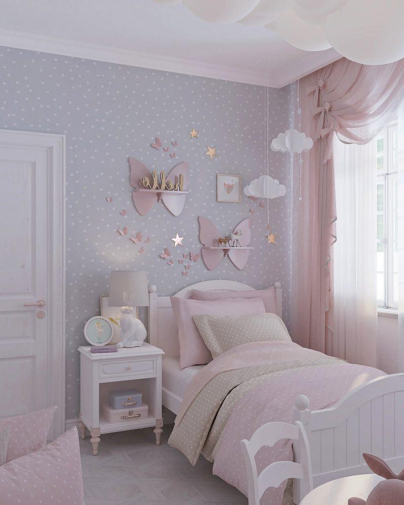детская комната для девочки фото 26