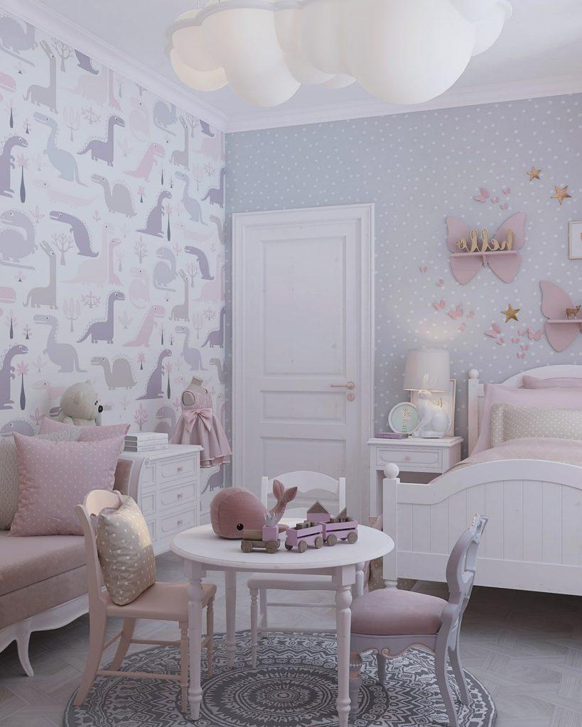 детская комната для девочки фото 28