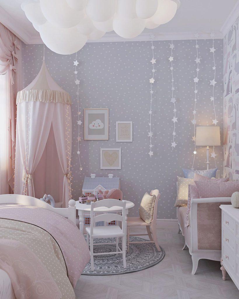 детская комната для девочки фото 29