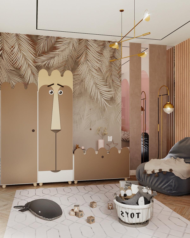 детская комната для девочки фото 19