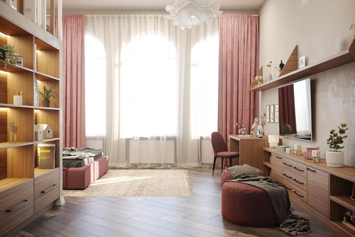 детская комната для девочки фото 23