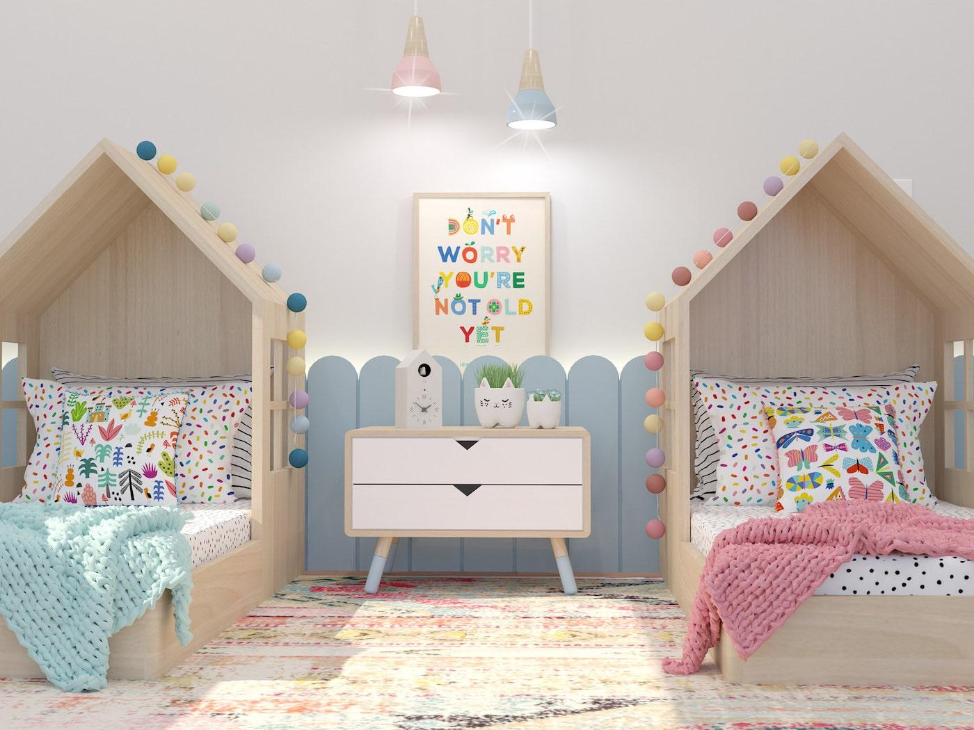 детская комната для девочки фото 30