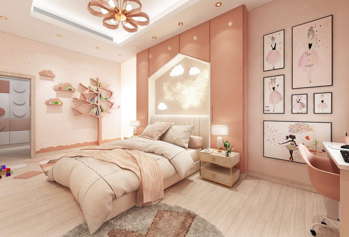 детская комната для девочки фото 32