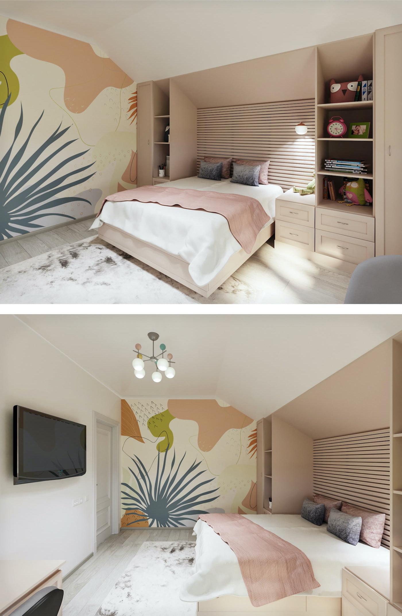 детская комната для девочки фото 34