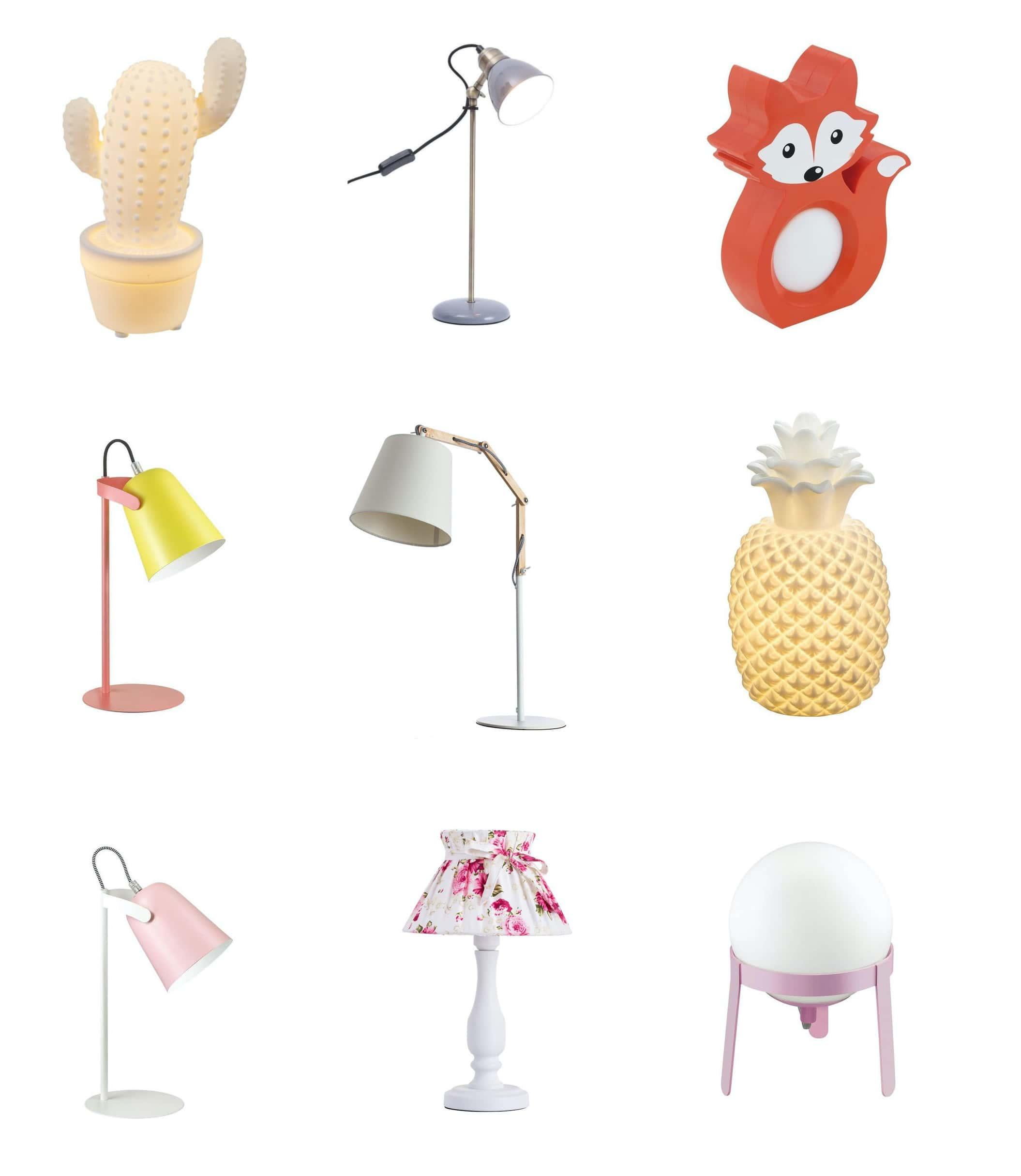 красивые люстры и светильники в комнату девочки