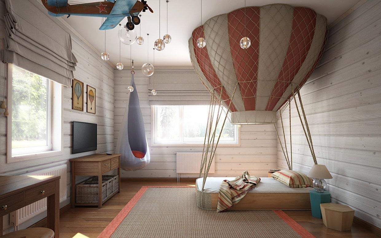 детская комната для мальчика фото 85
