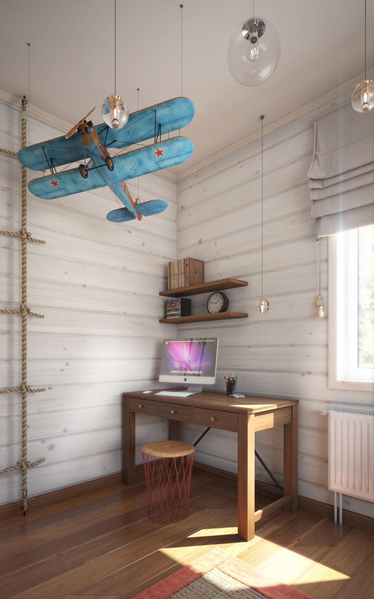 детская комната для мальчика фото 86