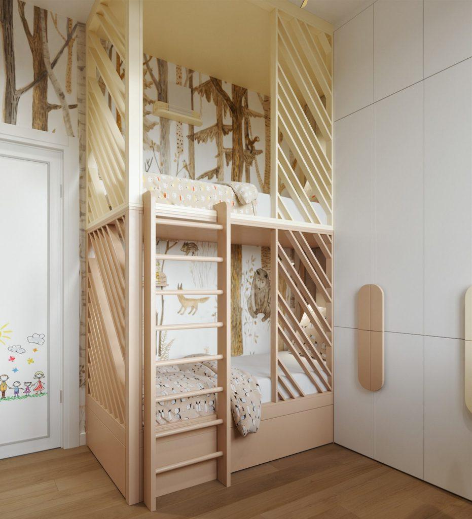 детская комната для мальчика фото 78