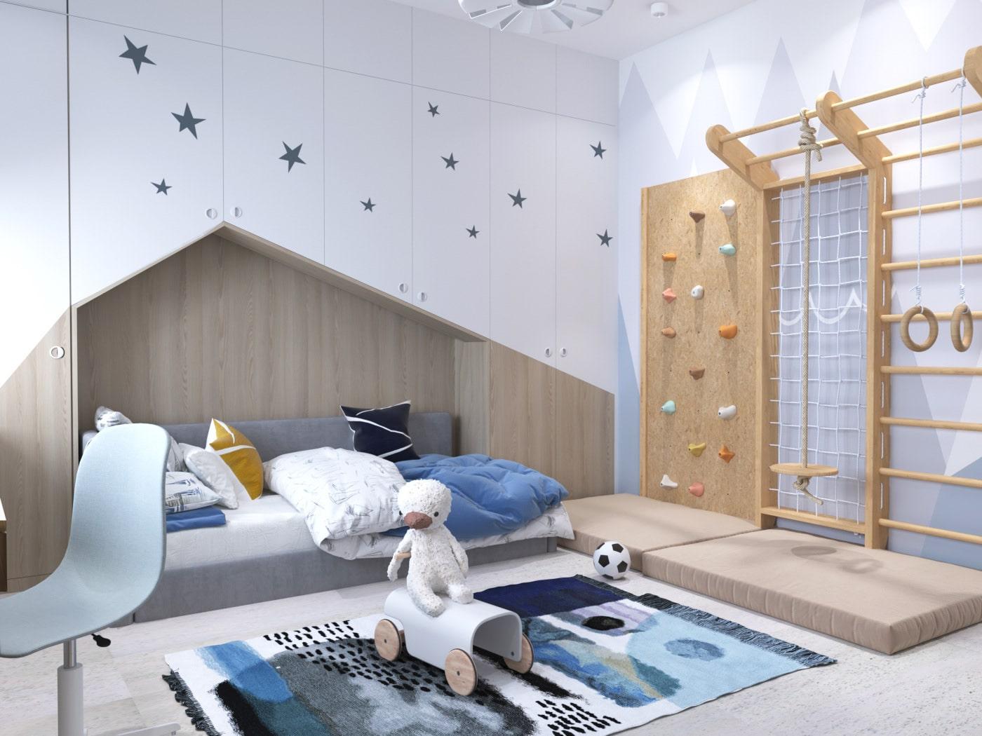 детская комната для мальчика фото 58