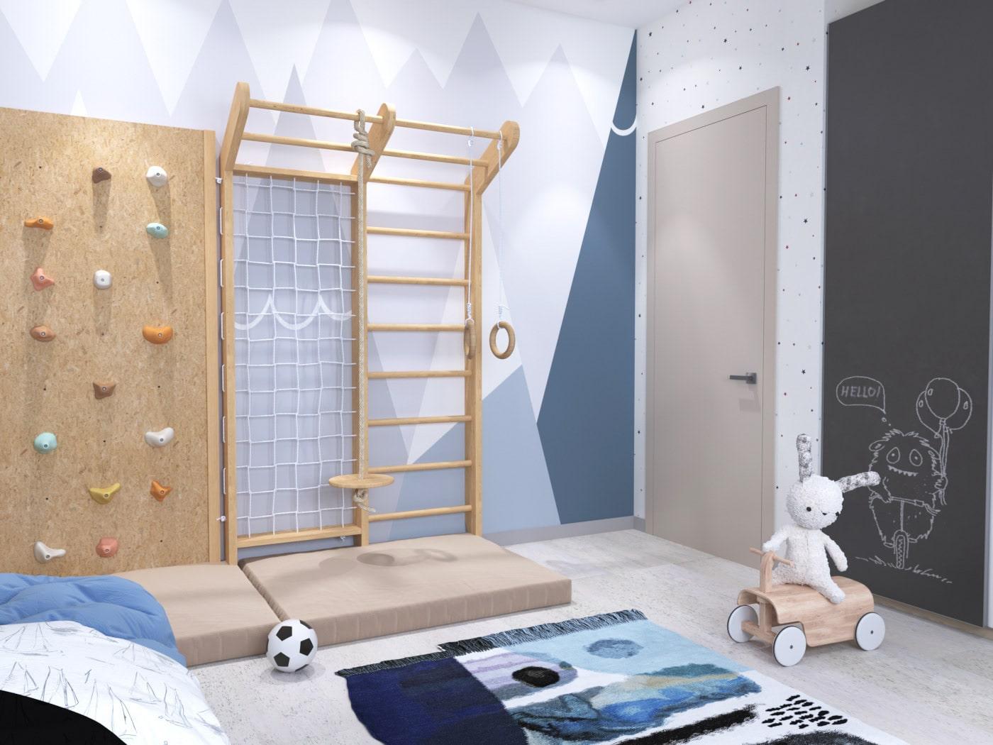 детская комната для мальчика фото 59