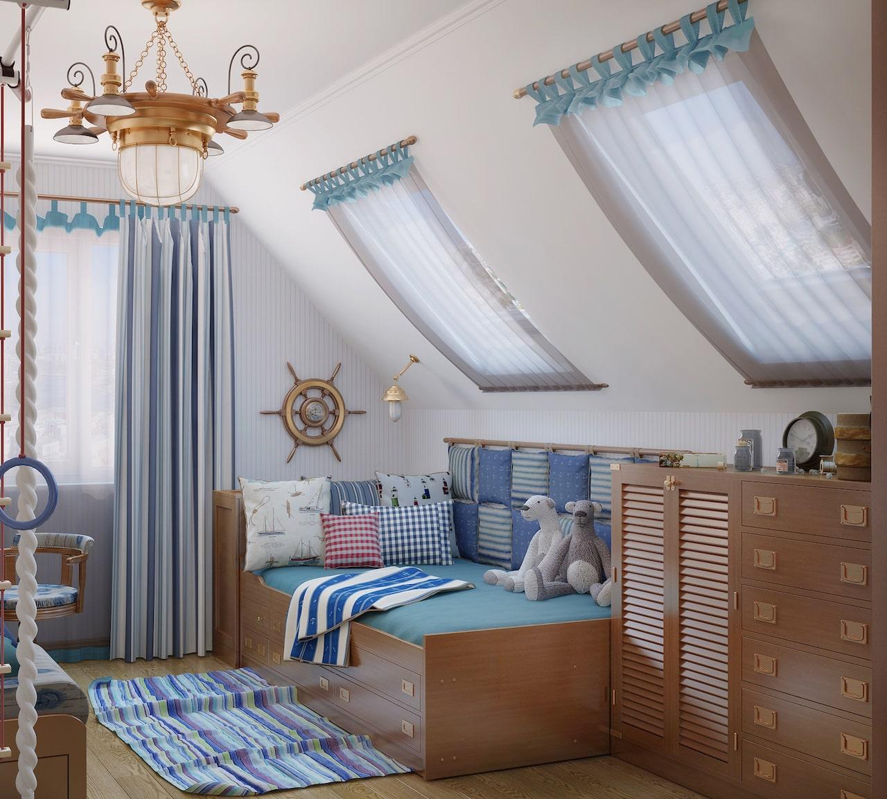 детская комната для мальчика фото 34