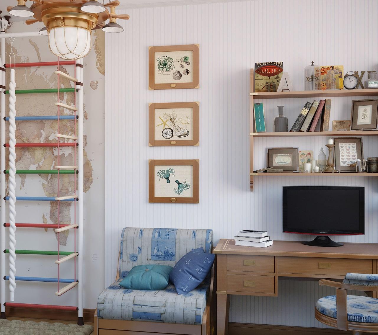 детская комната для мальчика фото 36