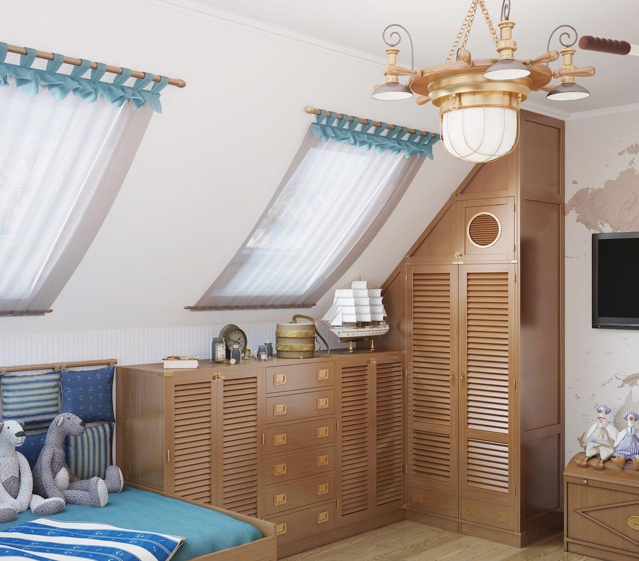 детская комната для мальчика фото 37