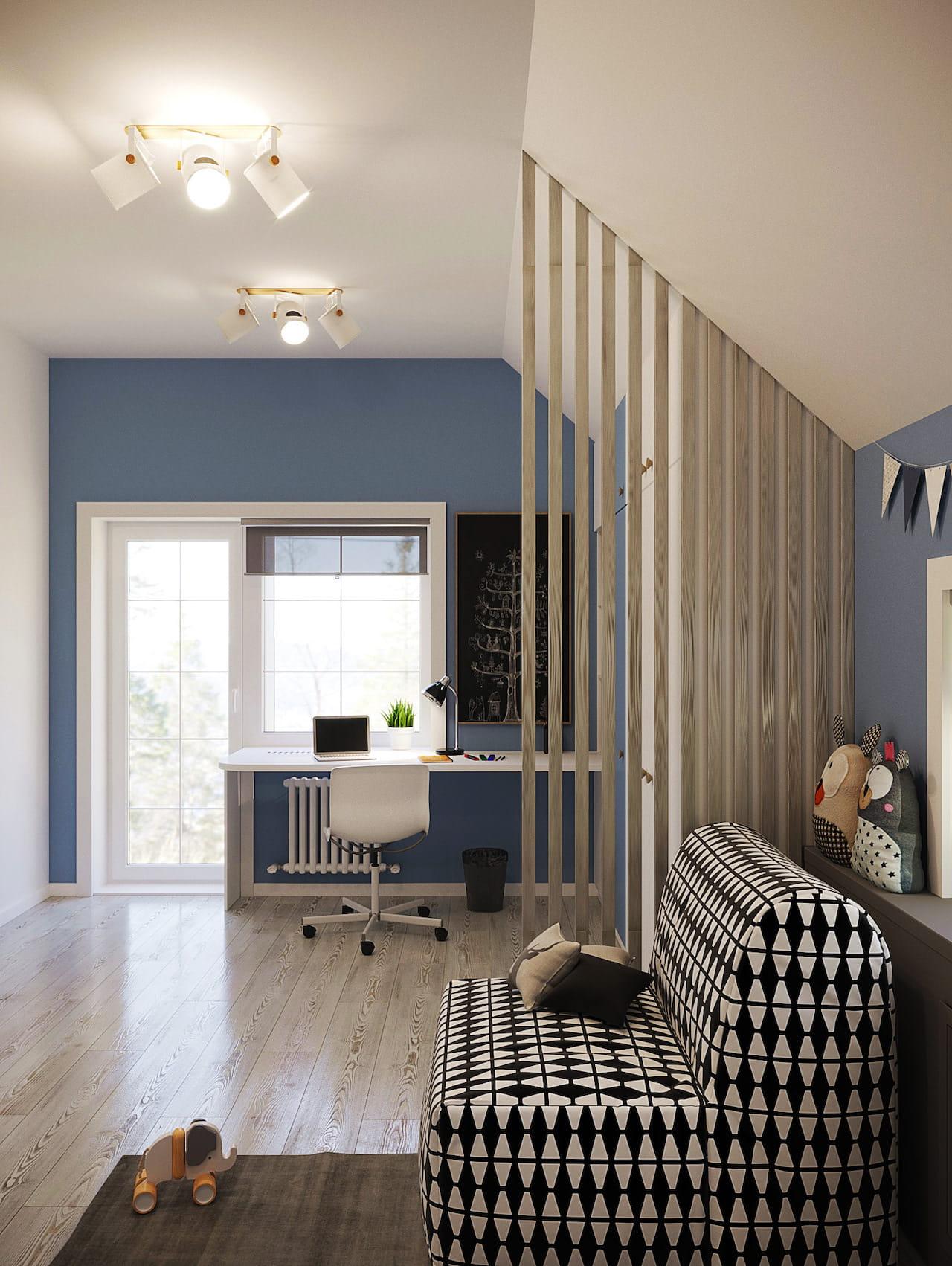 детская комната для мальчика фото 91