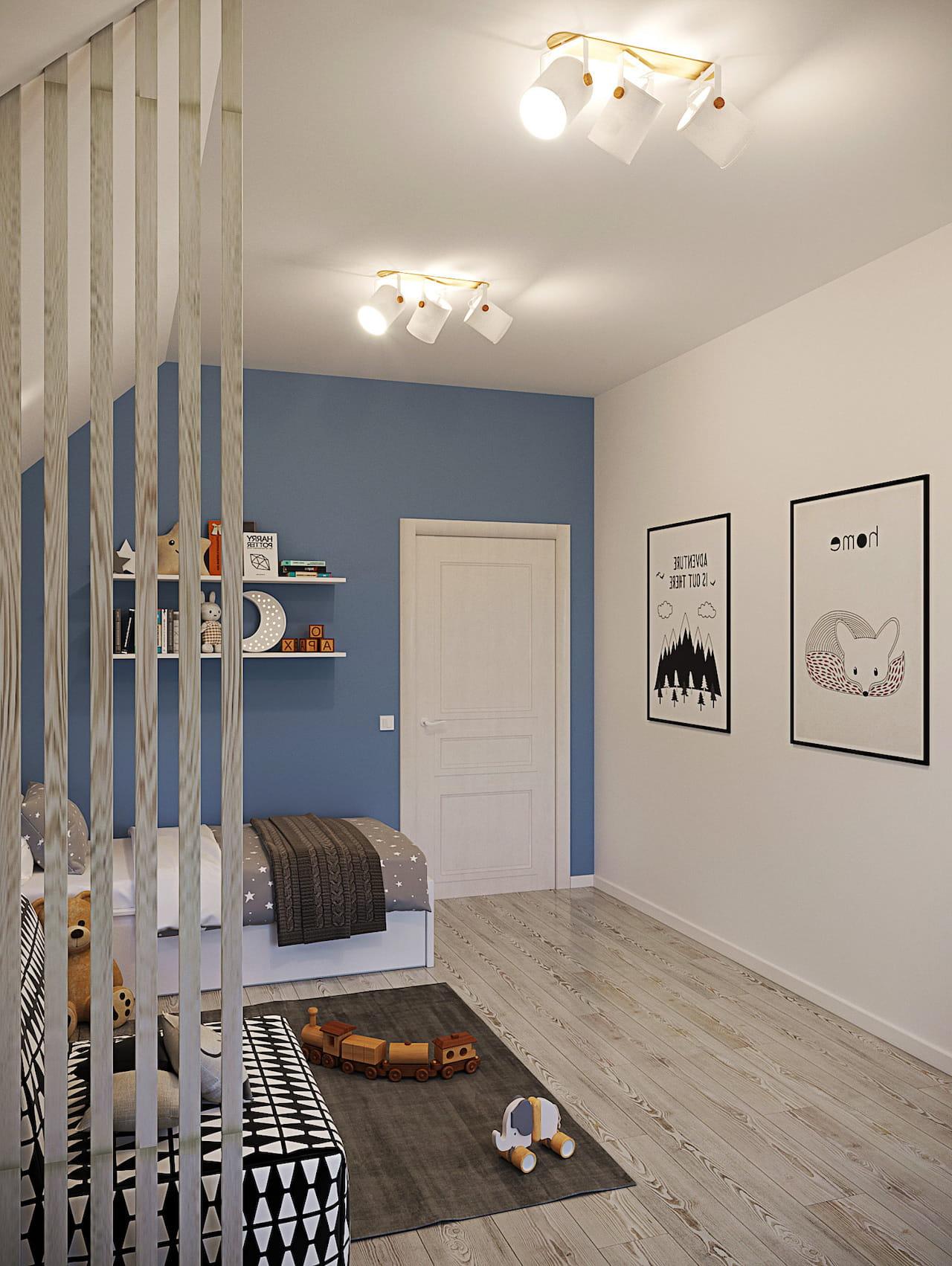 детская комната для мальчика фото 92