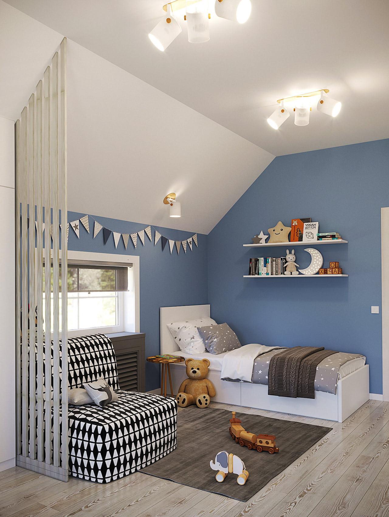 детская комната для мальчика фото 93