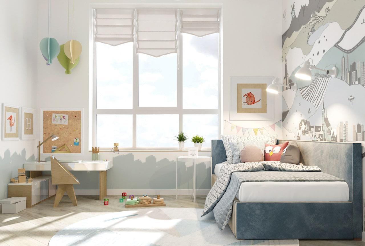 детская комната для мальчика фото 82