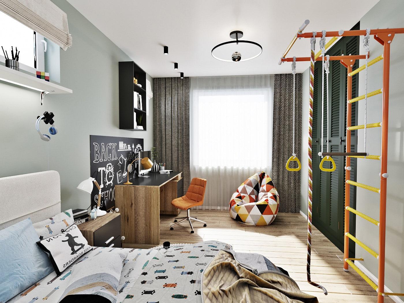 детская комната для мальчика фото 13