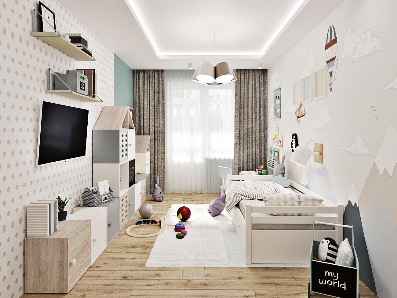 детская комната для мальчика фото 79