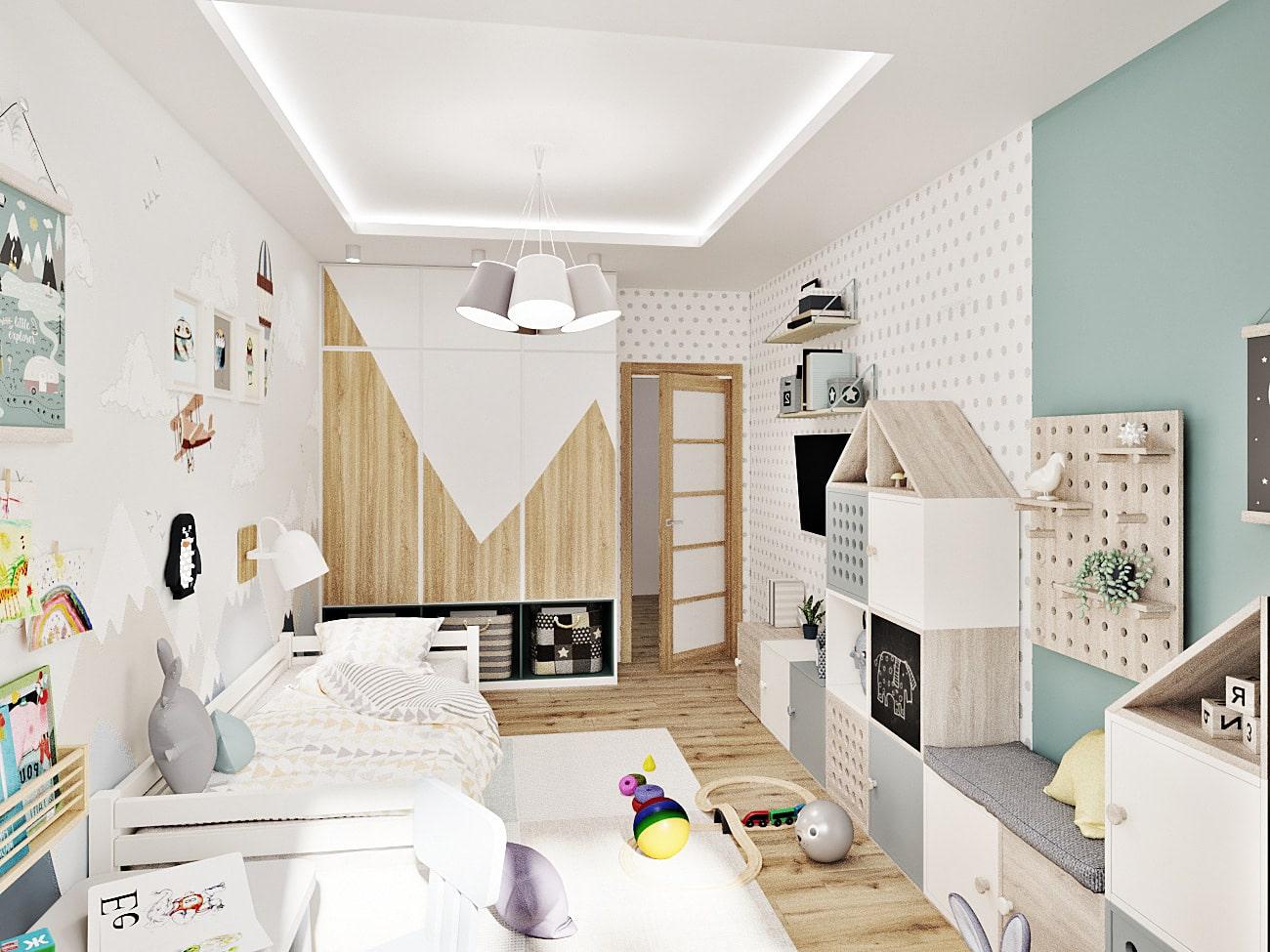 детская комната для мальчика фото 80