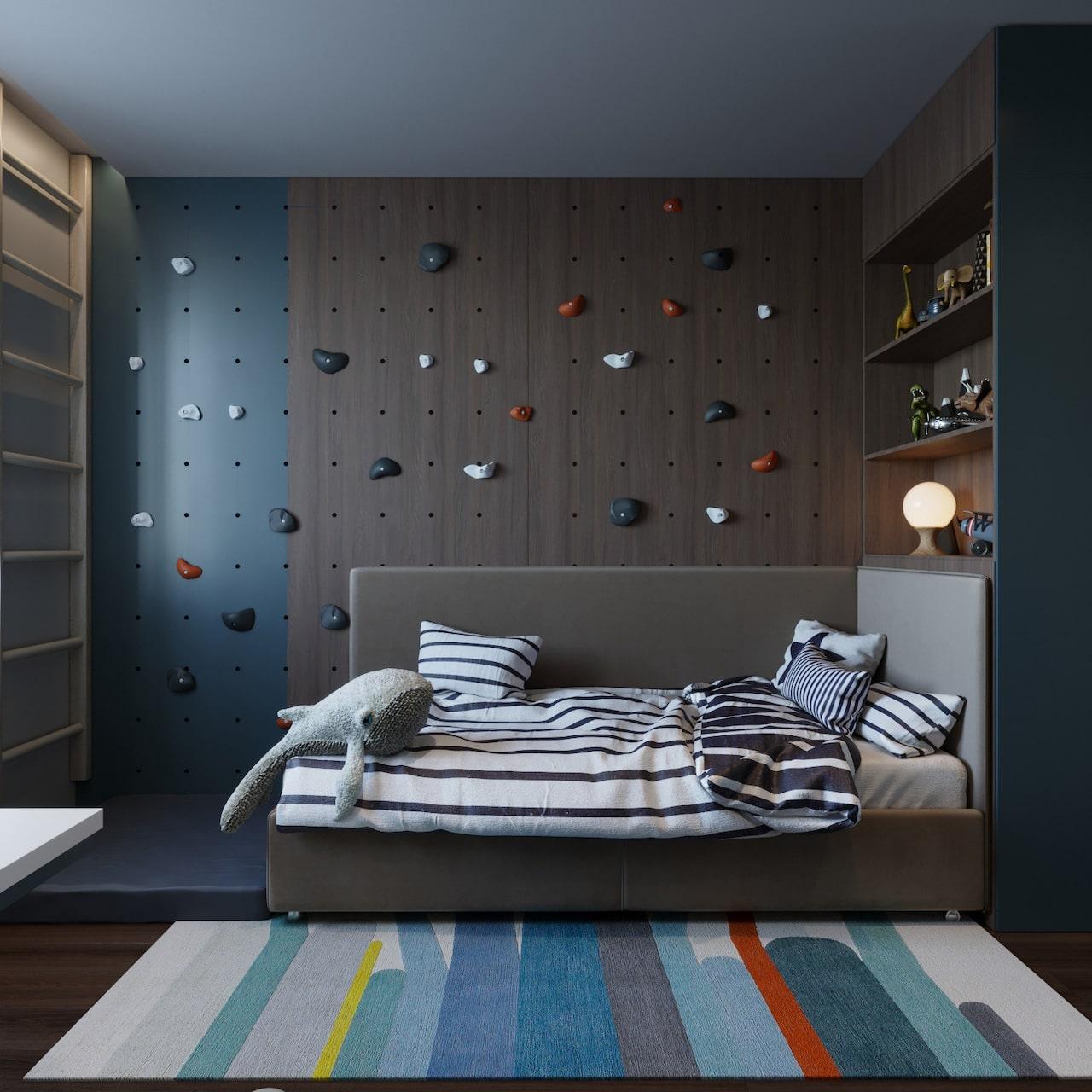 детская комната для мальчика фото 66