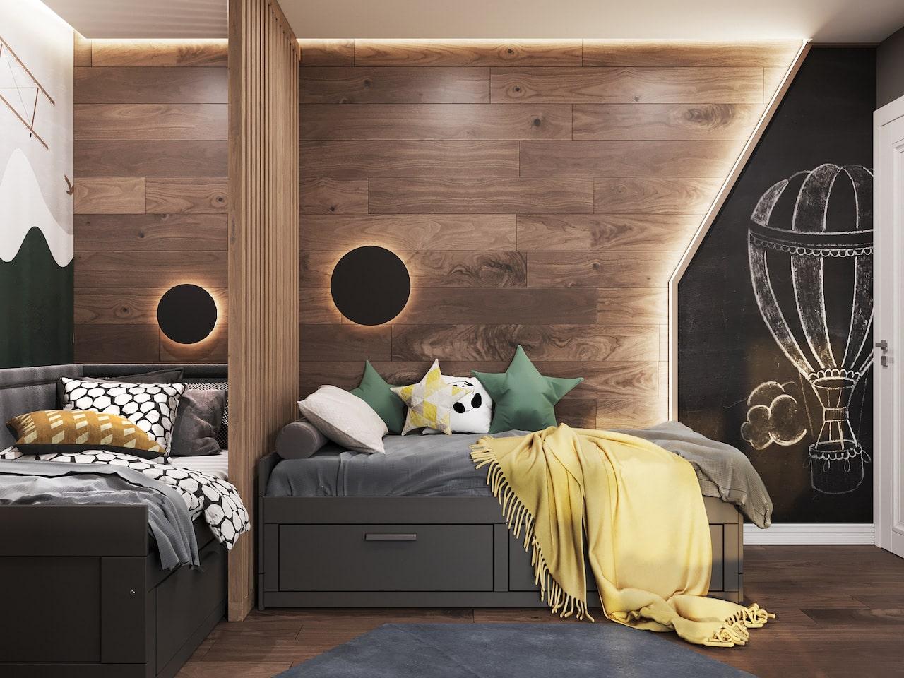 детская комната для мальчика фото 1