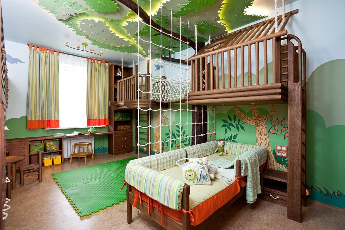 детская комната для мальчика фото 27