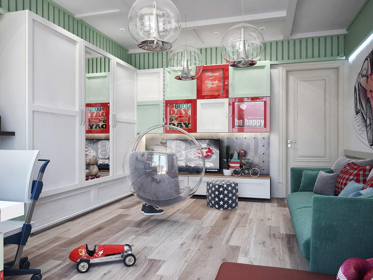 детская комната для мальчика фото 52